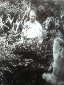 G.N.Brandt med den rygvendte Leda