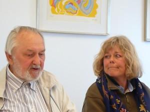 Jørn Palle Schmidt og Lulu Salto Stephensen